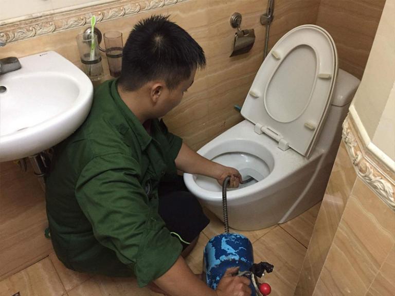 Thông tắc cống tại Nguyễn Trãi Chuyên Nghiệp Không Đục Phá