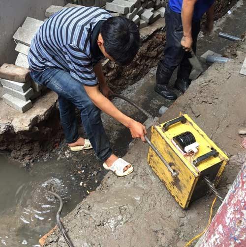 Thông tắc cống ở Nguyễn Chính 0967.813.856 Thợ Tay Nghề Cao