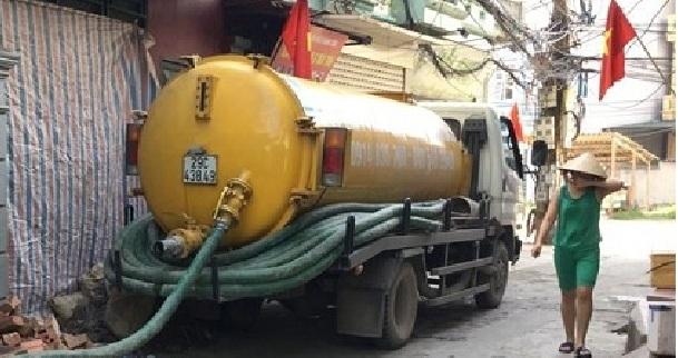 Thông tắc cống tại Nguyễn Phúc Lai-Thông bể phốt