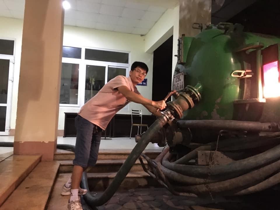 Hút Bể Phốt Tại Huyện Bình Lục 0976.904.032 Thông Cống 100K/m